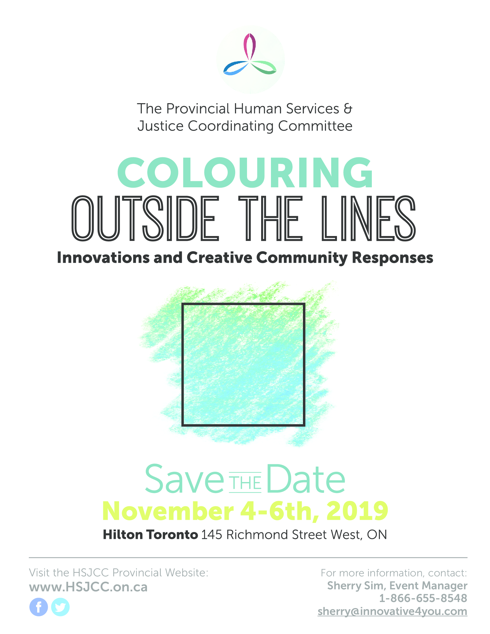 Save the Date - November 4-6, 2019